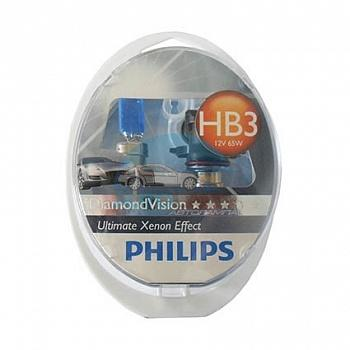 PHILIPS HB3/9005 12V 55W P20d Diamond Vision (9005DV), EUROBOX-2шт