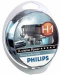 Philips H1 12-55 Р14.5s +80%  X-TREME POWER (2шт) Р-12258XP2